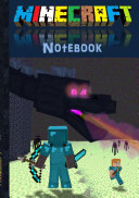 Minecraft Notebook  Ender Dragon   quad paper