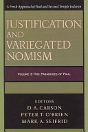 Pdf Justification and Variegated Nomism