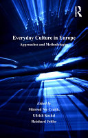 Pdf Everyday Culture in Europe Telecharger
