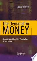 The Demand For Money Book