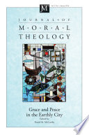Journal of Moral Theology  Volume 5  Number 1