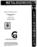 Metalogenesis en Latinoamerica