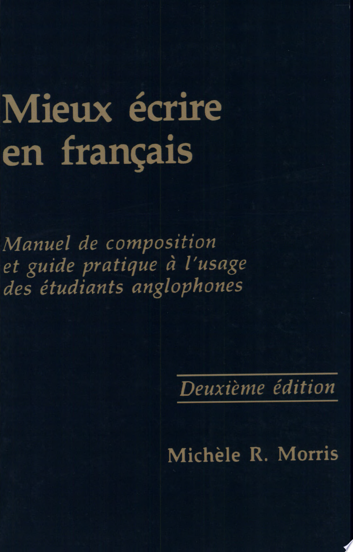 Mieux Écrire en Français banner backdrop