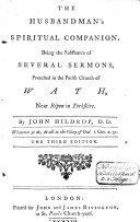 The Husbandman s Spiritual Companion