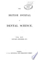 British Journal of Dental Science and Prosthetics