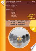 Frattura ed Integrità Strutturale - Annals 2013