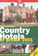 Recommended Country Hotels of Britain 2001