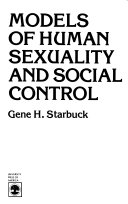 Models of Human Sexuality and Social Control