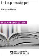 Le Loup des steppes d'Hermann Hesse