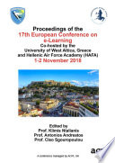 ECEL 2018 17th European Conference on e Learning