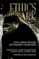 Ethics on the Ark Pdf/ePub eBook