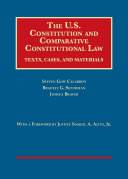 The U.s. Constitution and Comparative Constitutional Law