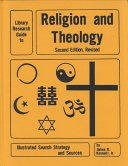 Library Research Guide to Religion and Theology