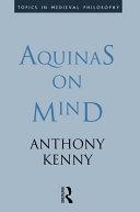 Aquinas on Mind