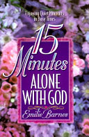15 Minutes Alone with God Book