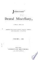 Johnston S Dental Miscellany