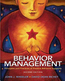 Behavior Management Book