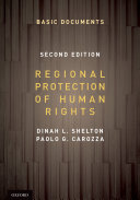Regional Protection of Human Rights Pack