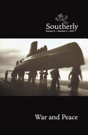 Southerly Journal Volume 75 No 3 Book