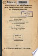 Aktivierunsrecht und Aktivierungspflicht in der Handelsbilanz und der Einkommen- und Korperschaftsbilanz
