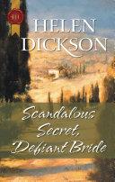 Pdf Scandalous Secret, Defiant Bride Telecharger