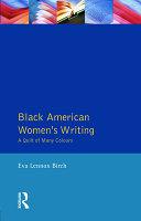Black American Women S Writing