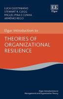 Elgar Introduction to Theories of Organizational Resilience Pdf/ePub eBook