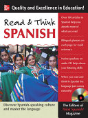 Read and Think Spanish  Book  1 Audio CD