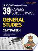 38 Previous Year Papers Subjectwise - CSAT Paper 1 - UPSC Civil Services Examination 1st Edition