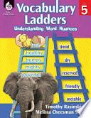 Vocabulary Ladders Understanding Word Nuances Level 5