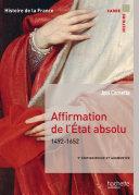 Pdf Affirmation de l'État absolu 1492-1652 Telecharger