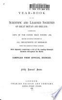 Scientific And Learned Societies Of Great Britain