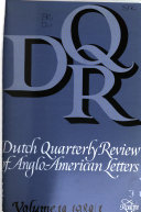 Dutch Quarterly Review of Anglo-American Letters