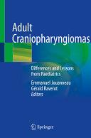 Adult Craniopharyngiomas Book