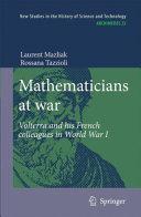 Mathematicians at war