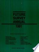 Future Survey Annual 1991 Book