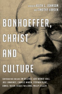 Bonhoeffer, Christ and Culture ebook