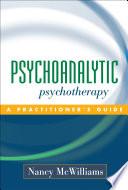Psychoanalytic Psychotherapy Book