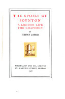 Pdf The Novels and Tales of Henry James: The Spoils of Poynton. A London life. The chaperon