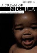 A Dream of Nigeria Pdf/ePub eBook