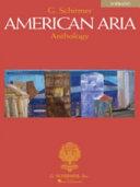 American Aria Anthology