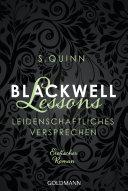 Blackwell Lessons - Leidenschaftliches Versprechen -