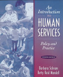 An Introduction To Human Services Book