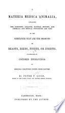 A Materia Medica Animalia