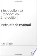 Introduction to Ergonomics  Second Edition