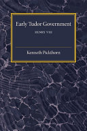 Early Tudor Government
