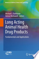 Long Acting Animal Health Drug Products Book PDF