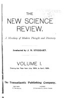 The New Science Review