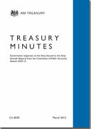 Treasury minutes on the sixty-second to the sixty-seventh reports from the Committee of Public Accounts: Session 2010-12