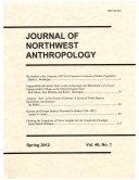 Journal of Northwest Anthropology Pdf/ePub eBook